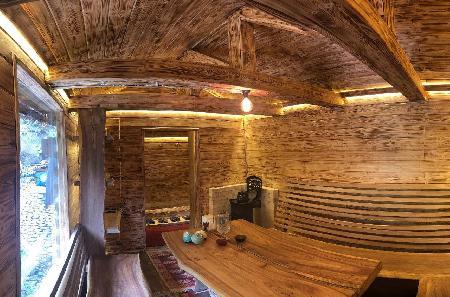 Сакская баня на курорте    Баня.kz