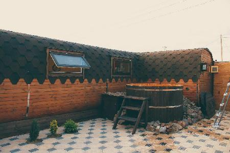 Кедровый банный комплекс «AGAIYNDYLAR»   Баня.kz